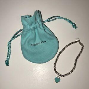 Tiffany and Co. return to Tiffany bead bracelet